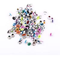 GLOGLOW 500 Unids Colores Mezclados 3mm Forma Redonda