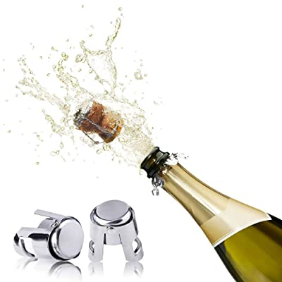 Vacuum Champagne Wine Bottle Stopper Sealer Cork Silicone Plug Cap Seal