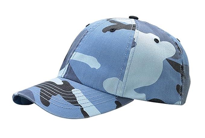 b762e33232d53 G Men s Enzyme Washed Camouflage Cap (Blue Camo) at Amazon Men s ...