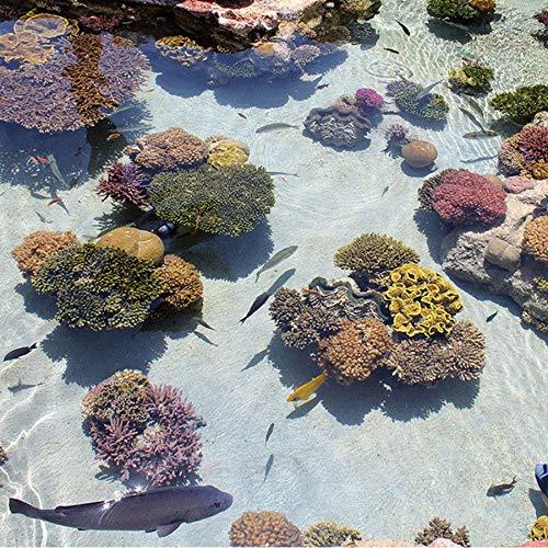 De Personalizados Papel Océano Fotográfico Pisos Sshssh Suelo Tropical Pvc Pintura Desgaste Tapiz 450x300cm Peces Etiqueta Para Coral La 400x280cm Baño Pintado Impermeable El Antideslizante EZ8q8xw54