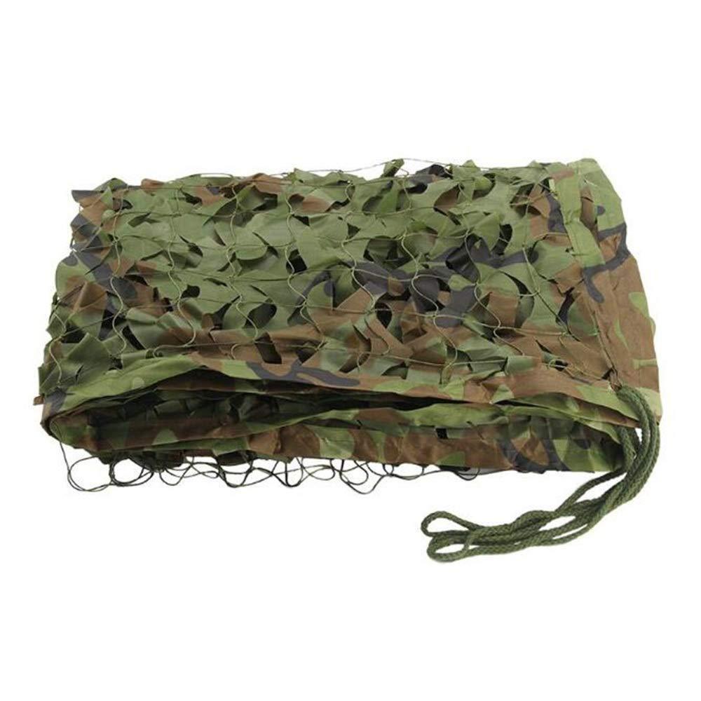 5x5M Ljdgr Filet Camo Visière Extérieure GR Filet de Camouflage Garden vert Hill Cover Jungle Filet extérieur de Camouflage (Taille  3x10m) Armée Camo Filet (Taille   2x10m)
