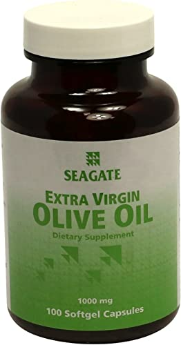 Seagate Products Extra Virgin Olive Oil 1000 mg 100 Soft-Gel