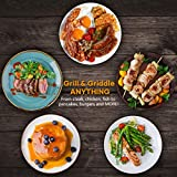 Indoor Grill Electric Grill Griddle CUSIMAX