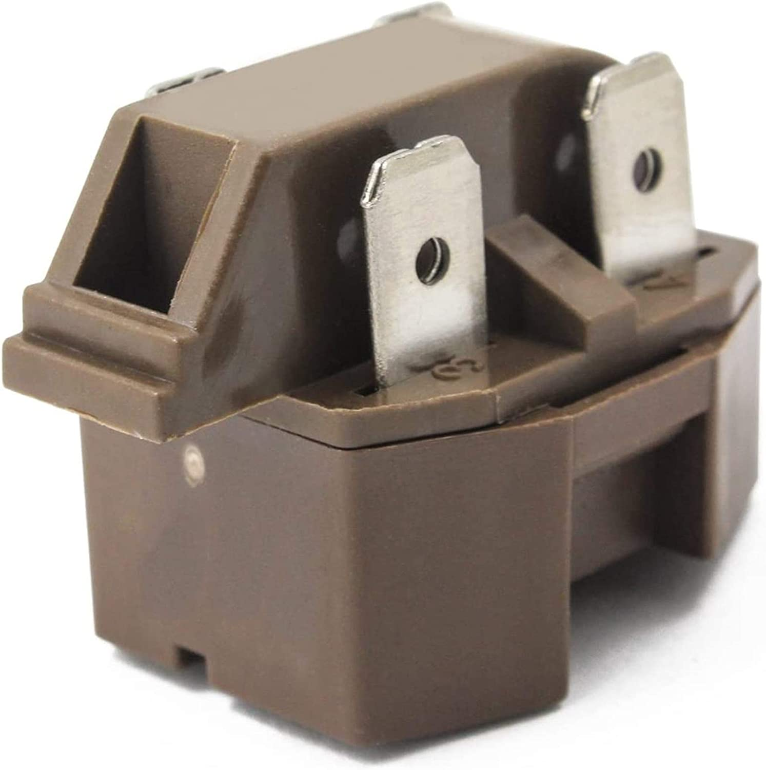 IC-4 4Pin Freezer Compressor PTC Start Relay Fit for Frigidaire Gibson GE Whirlpool Ropper Kenmore Refrigerators Replaces 32330 WP2262185 WR07X26748 4387913 216594300 WP2262181 WR07X10055 AP2136233
