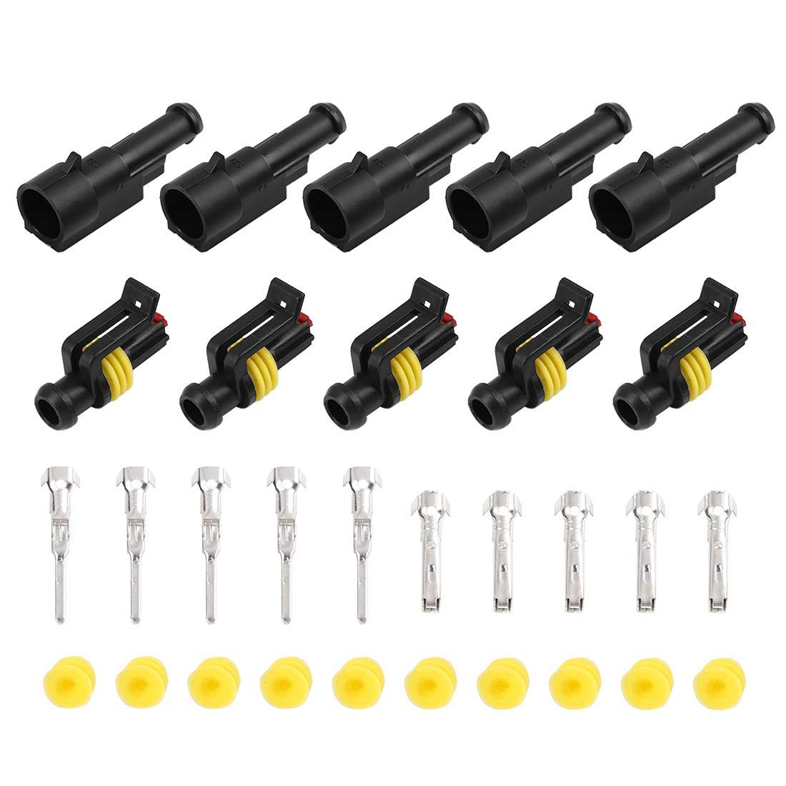 X AUTOHAUX 1 2 3 4 5 6 Broches connecteur /électrique /étanche 30 Ensembles