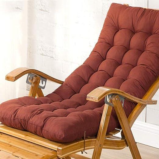 XHX Sillas reclinables de madera plegables, sillones de ...
