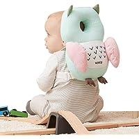 Bebamour Baby-Kopfschutz Weiches und atmungsaktives Baby-Kopfstützkissen Kopfstützkissen gegen Absturz