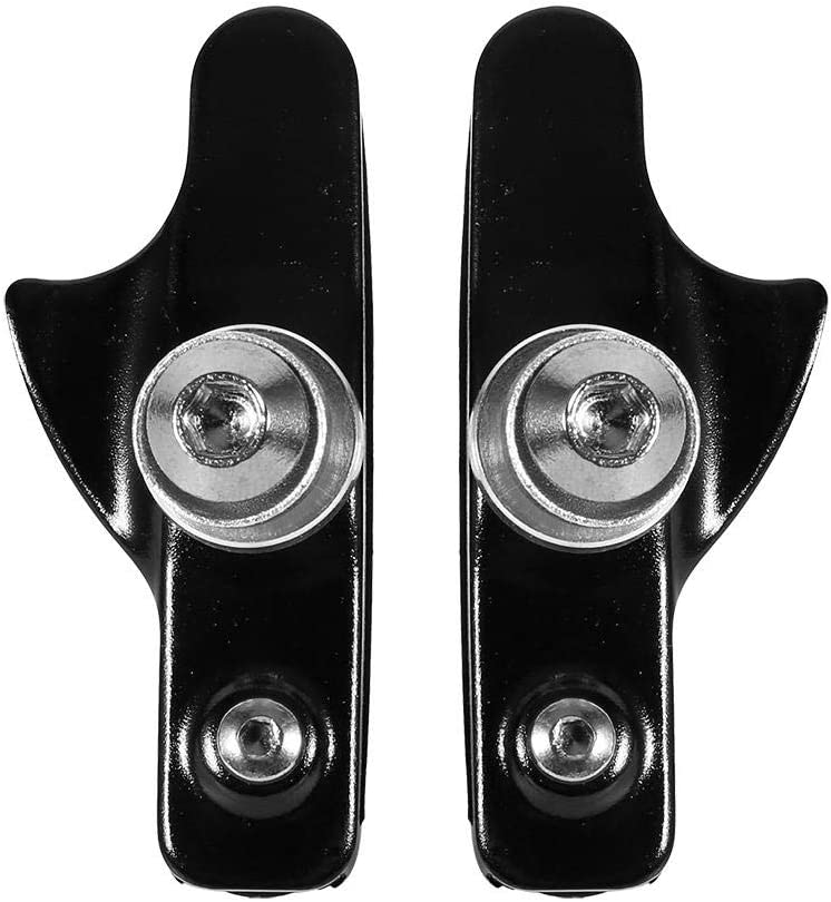 2 Set Drawer-style Aluminium Alloy Rubber Bicycle Break Pad Bike Brake Blocks