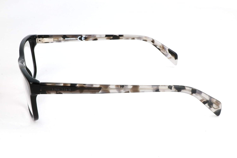 53.0 Unisex-Adulto Schwarz Nero Diesel Brillengestelle DL5211 002-53-15-145 Montature
