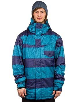 Quiksilver Mission Printed Insulated - Chaqueta de Snowboard, Color Blau - Blau (Moroccan Blue), tamaño XXL: Amazon.es: Ropa y accesorios