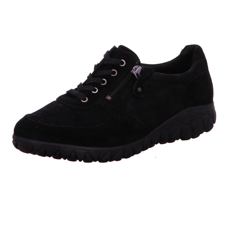 Waldläufer H89001-203001 - Zapatos de cordones para mujer 38.5 EU negro