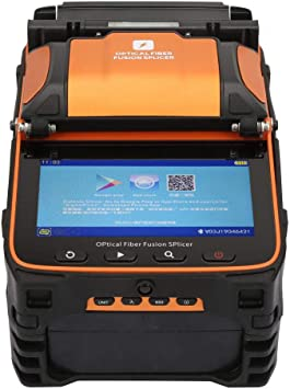 AI-9 Automatic Optical Fiber Fusion Splicer 5/'/' TFT Display Power Meter 3 in 1