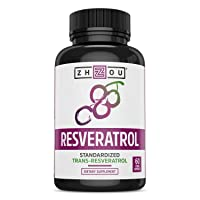 Resveratrol Supplement for Healthy Aging, Immune System & Heart Health Support -...