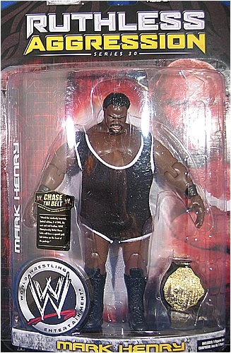 WWE Wrestling Ruthless Aggression Series 30 Action Figure Mark Henry by WWE