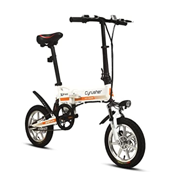 Bicicleta elctrica plegable city b pro