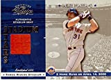 Autograph Warehouse 343615 Mike Piazza Baseball Card Authentic Stadium Seat Piece - New York Mets 2001 Donruss Classics No. SS21 Three Rivers Stadium 2 Home Run Game