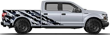 Vinyl Decal Wrap for 15-17 Ford F-150 3rd Brakelight ZOMBIE DEFENSE Matte Black
