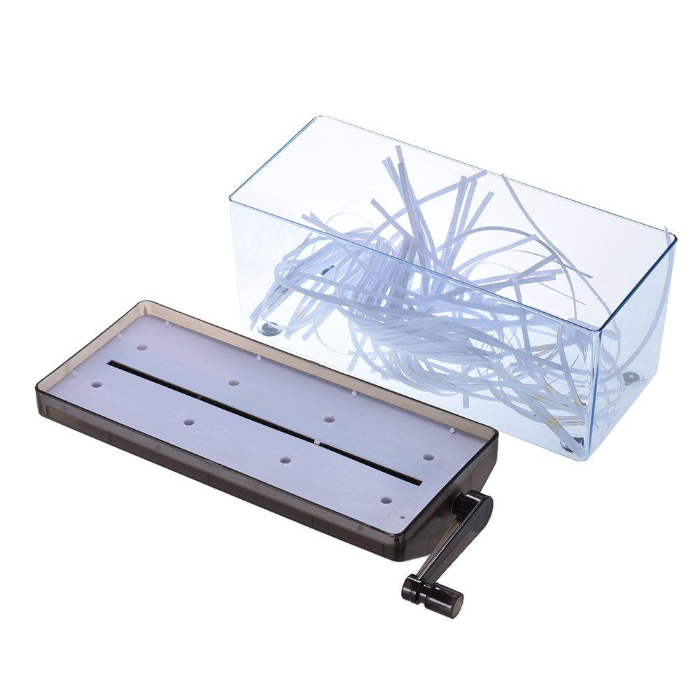 Fesjoy A6 Manuelle Handpapierzerkleinerungsdokumentdatei Handgefertigte gerade Schneidemaschine f/ür den Heimgebrauch im Schulb/üroManueller Papier Schredder,Schredder,Manueller Schredder,Aktenvernichte