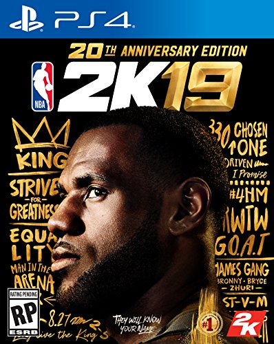 61vHQncla2L - NBA 2K19 20th Anniversary Edition