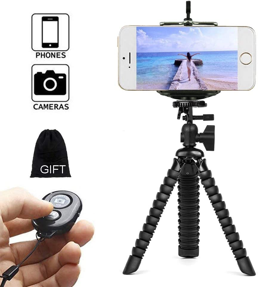 MiPao,Flexible Gorillapod Pulpo Mini Trípode para iPhone Samsung ...