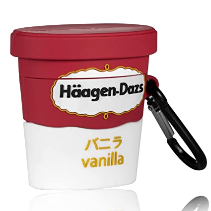 Amazon Com Lupct Icecream Cup Compatible With Airpods 1 2 Case