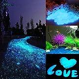 BEE Romantic Decorative Garden Stone, Glow In The Dark Garden Pebbles Stone  Man Made