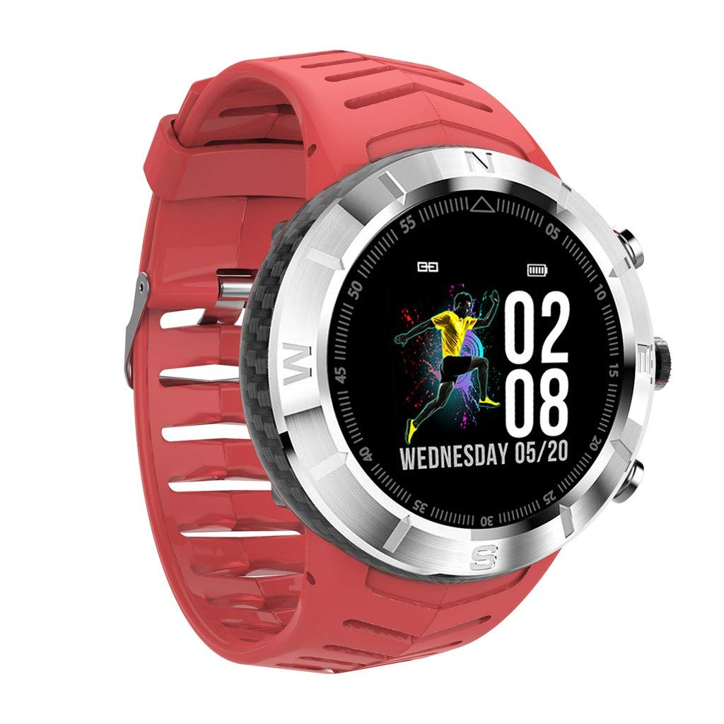 Amazon.com : Smart Watch, Vithconl DT08 Round FullTouch ...