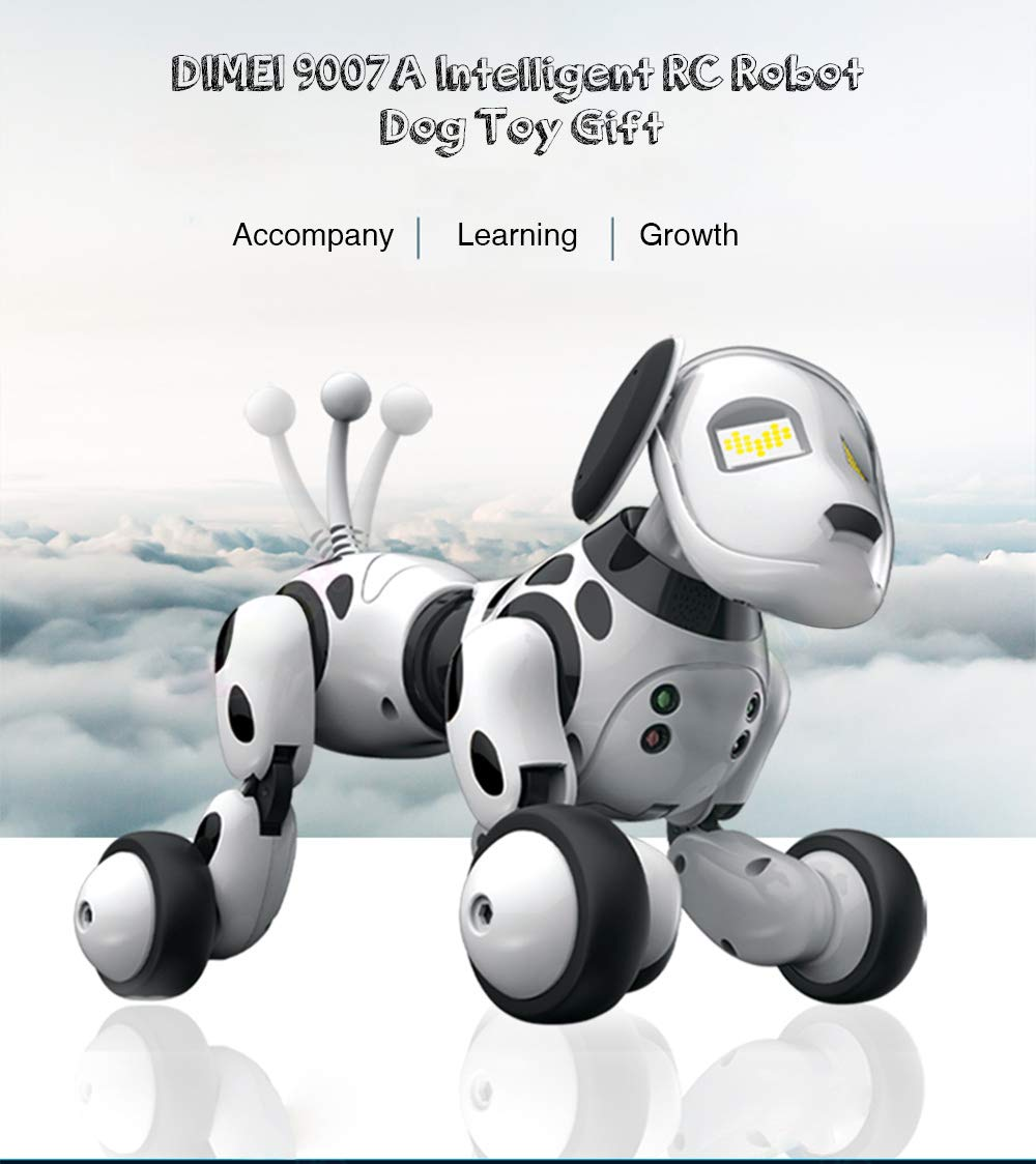 IDS Home DIMEI 9007A Intelligent RC Robot Dog Toy