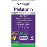 Natrol Melatonin Advanced Sleep Tablets with Vitamin B6, Helps You Fall Asleep Faster, Stay Asleep Longer, 2-Layer Controlled
