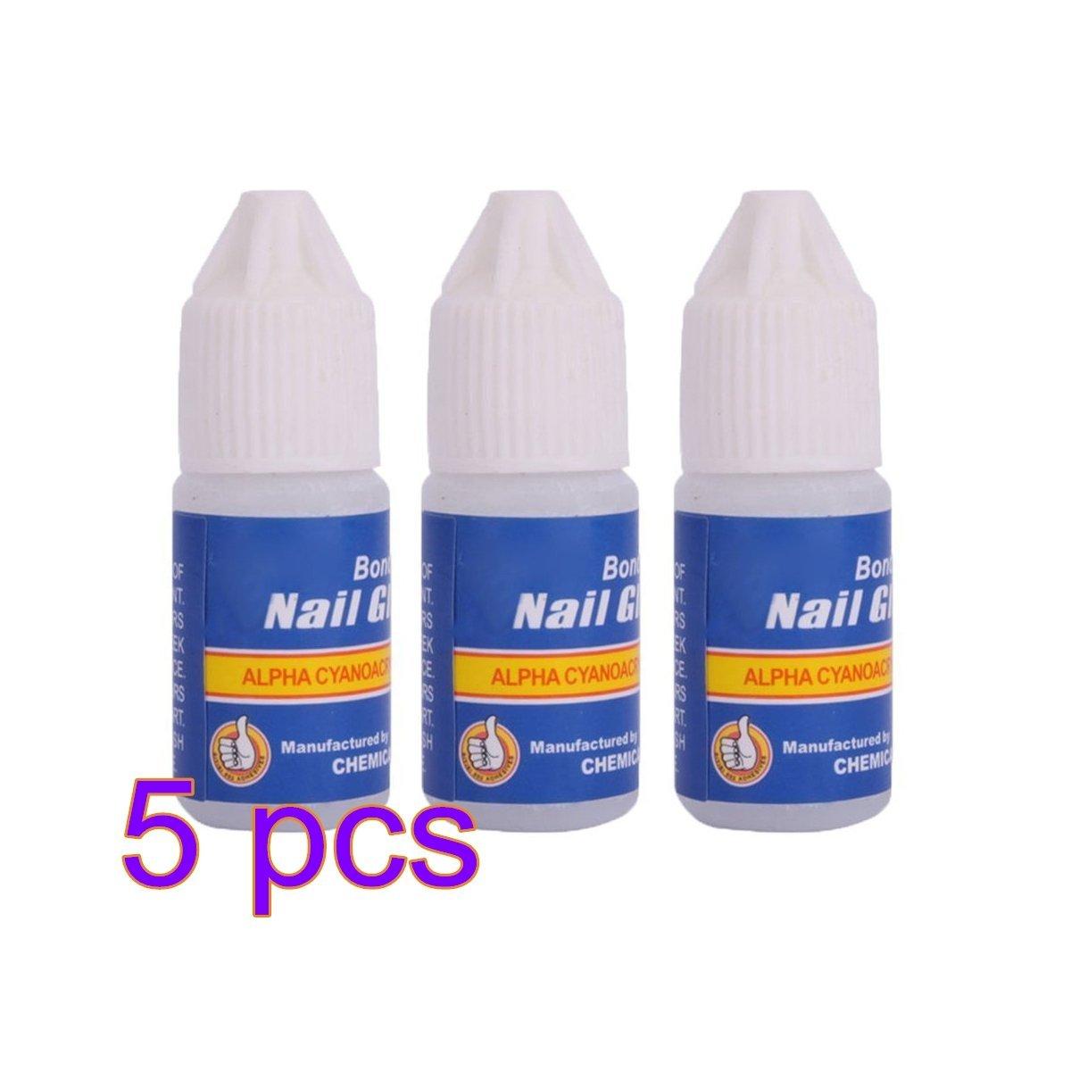 10 x 3 g profesional fuerte pegamento para uñas postizas acrílicas Row_120cc