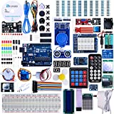Elegoo EL-KIT-001 UNO R3 Project Complete Starter Kit with Tutorial for Arduino (63 Items)