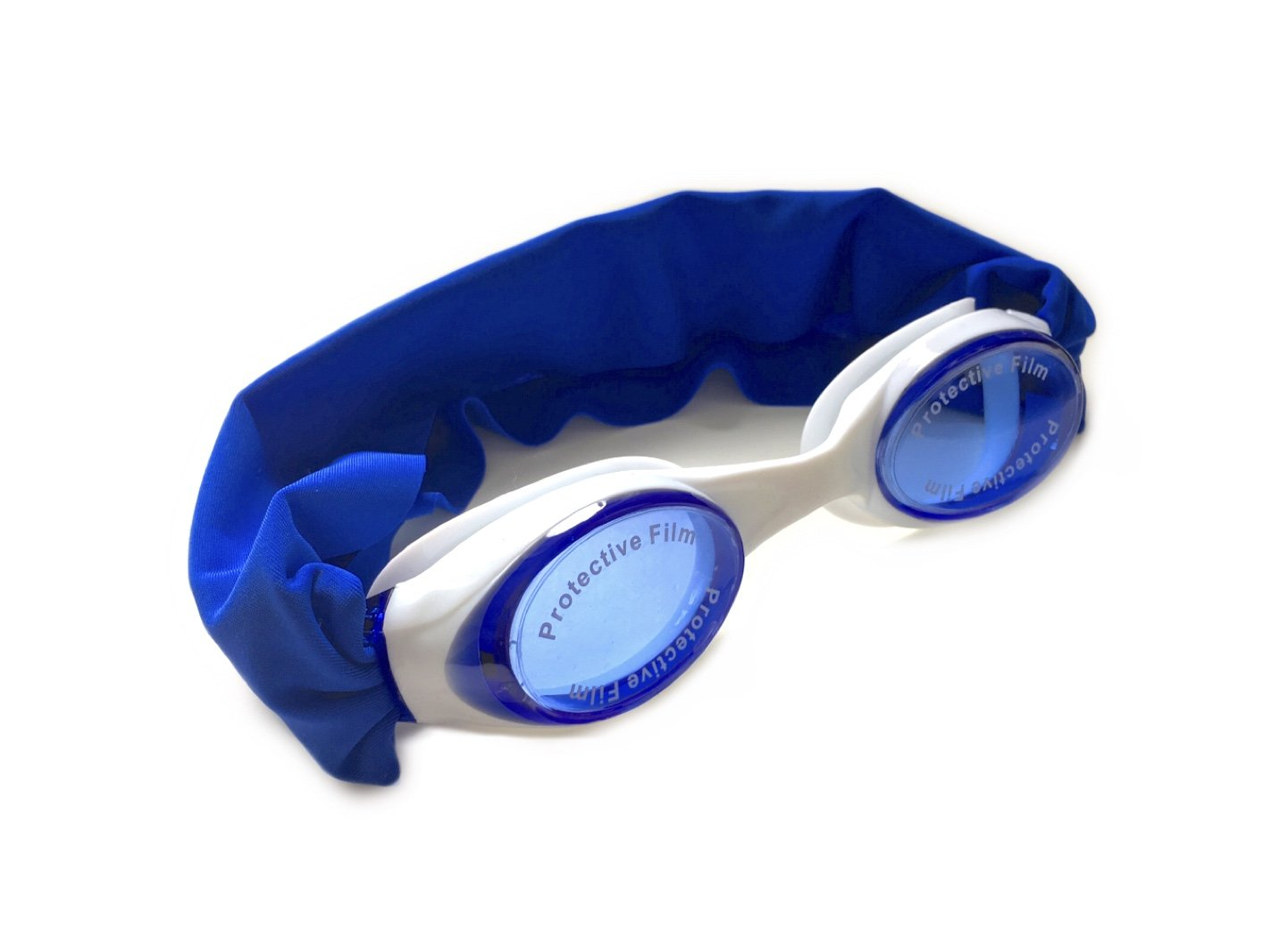 """Splash """"Royal"""" Swim Goggles - Fun Fashionable Comfortable - Fits Kids & Adults - Won't Pull Your Hair - Easy to Use - High Visibility Anti-Fog Lenses - Patent Pending"""