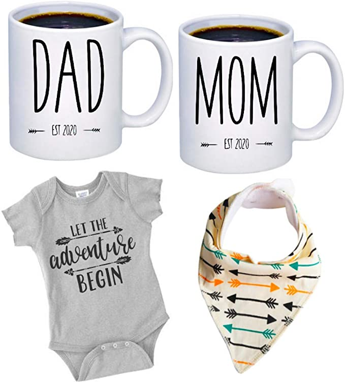Daddy Est 2020 Mug For Expectant Parents and New Dad Mugs Make Best Christmas or Birthday Gifts For the Father To Be