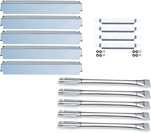 463268806 Gas Grill Burners and Crossover Tubes Replacement Charbroil 463268207