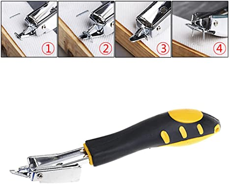 Heavy Duty Carton Box Staple Remover Tool Metal Easy For Handle