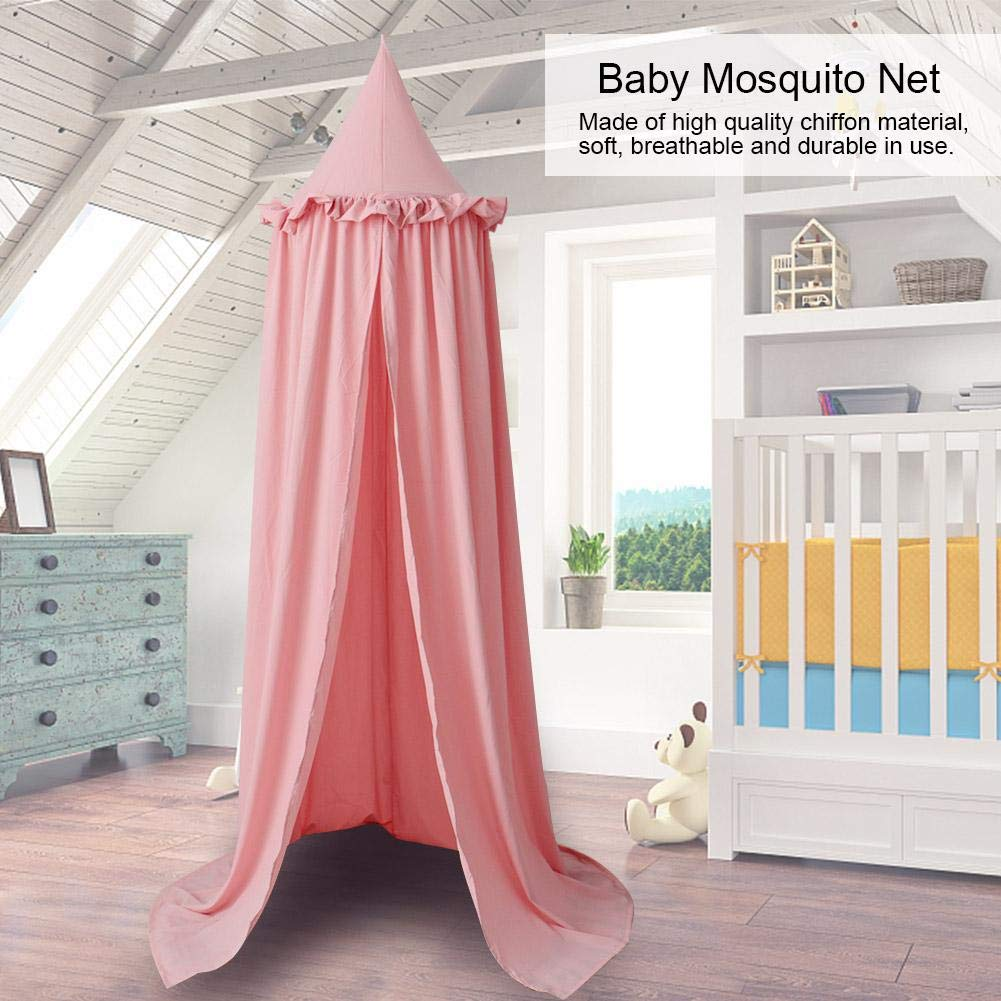 Gr/ün Baby Bett Moskitonetz Baumwolle Baby Bett Moskitonetz f/ür Krippen Kindergarten Baby Zimmer Zelt f/ür Baby