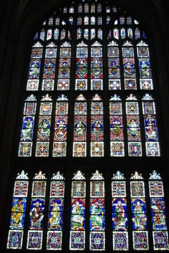 - Beautiful Stained Glass Window Panels at Canterbury Cathedral Journal: Take Notes, Write Down Memories in this 150 Page Lined Journal