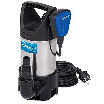 PowerPlus POW67915 Bomba De Agua Sucia 900W Ss Inox: Amazon.es: Bricolaje y herramientas