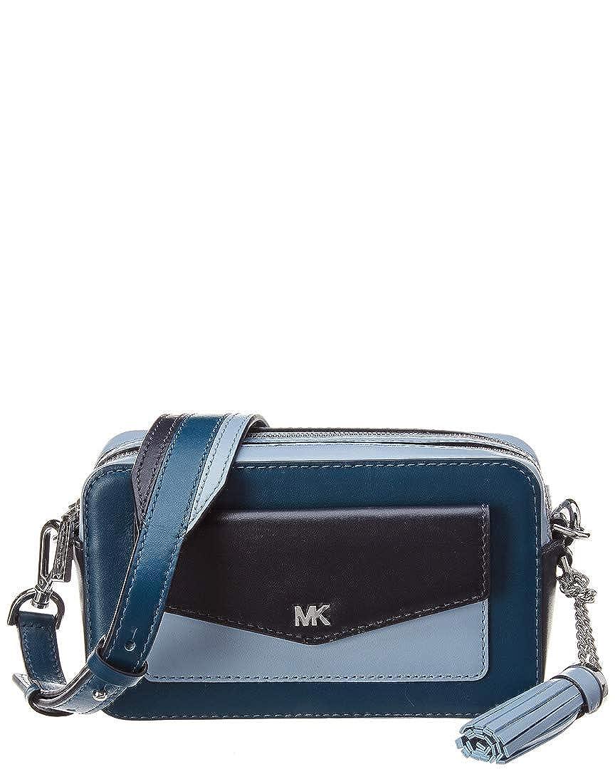 cc37d4f3a531 Michael Michael Kors Whitney Pocket Small Leather Camera Bag  Handbags   Amazon.com