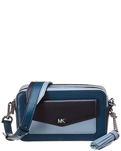5505a28dcde37 Michael Michael Kors Whitney Pocket Small Leather Camera Bag  Handbags   Amazon.com