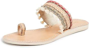05d59a8e1782a7 Cocobelle Women s Mahal Toe Ring Sandals