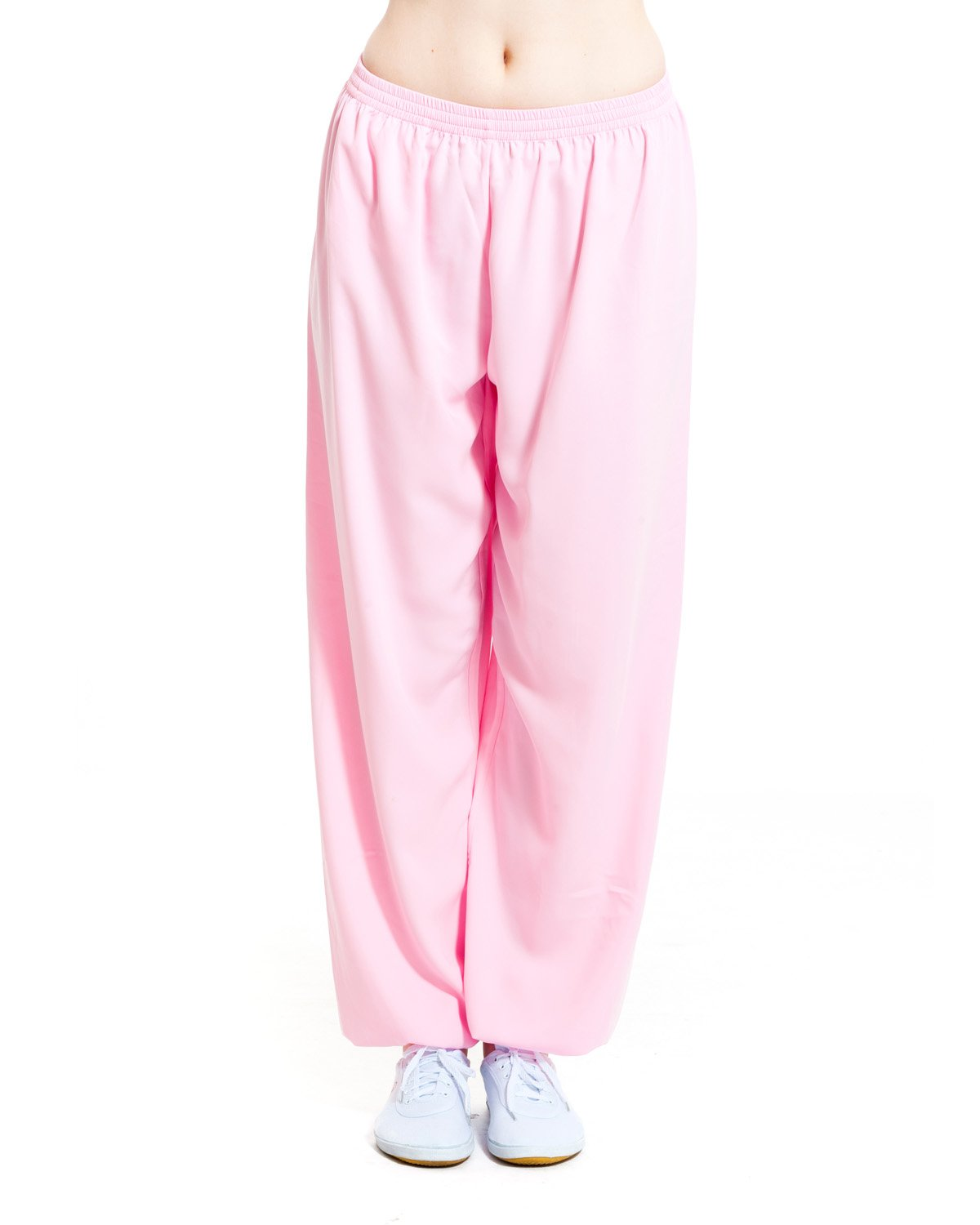 ICNBUYS Women's Kung Fu Tai Chi Pants Cotton Silk WTCPCS000