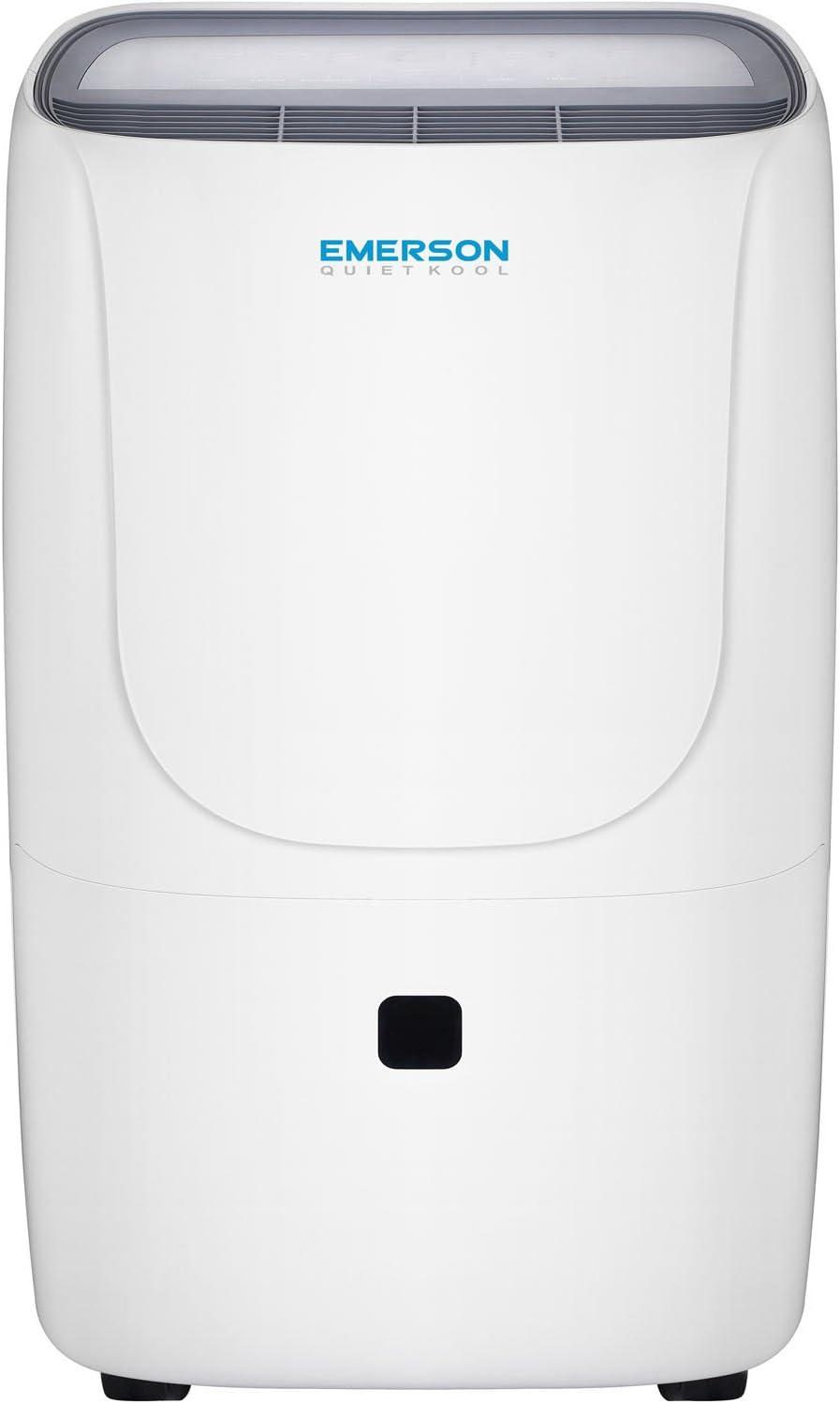 Emerson Quiet Kool 30-Pint Dehumidifier, EAD30E1, White