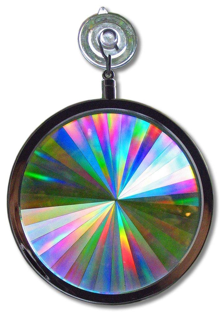 Suncatcher - Rainbow Axicon Window Sun Catcher - These Suncatchers are Great for Feng Shui