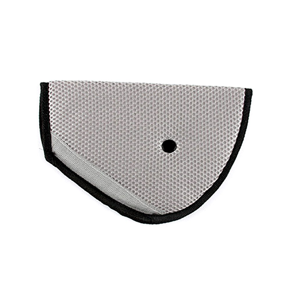 Kentop Niños Auto Cinturón de Seguridad–Cojín de hombro Cinturón desmontable Seguridad Asiento Fixer Protección, beige, 22,5×12,5CM