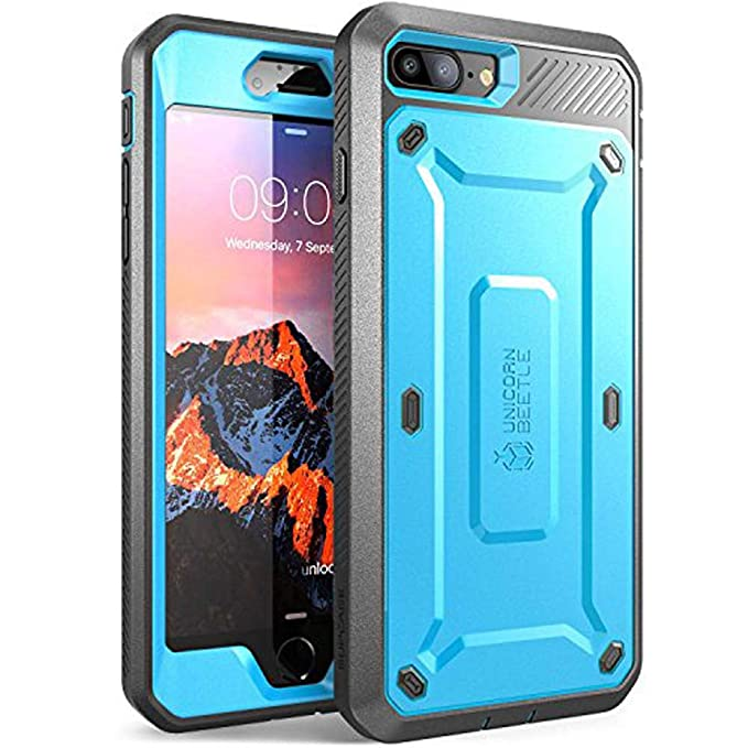 sneakers for cheap ed8bd b88e9 Amazon.com: iPhone 7 Plus Case, SUPCASE Full-body Rugged Holster ...