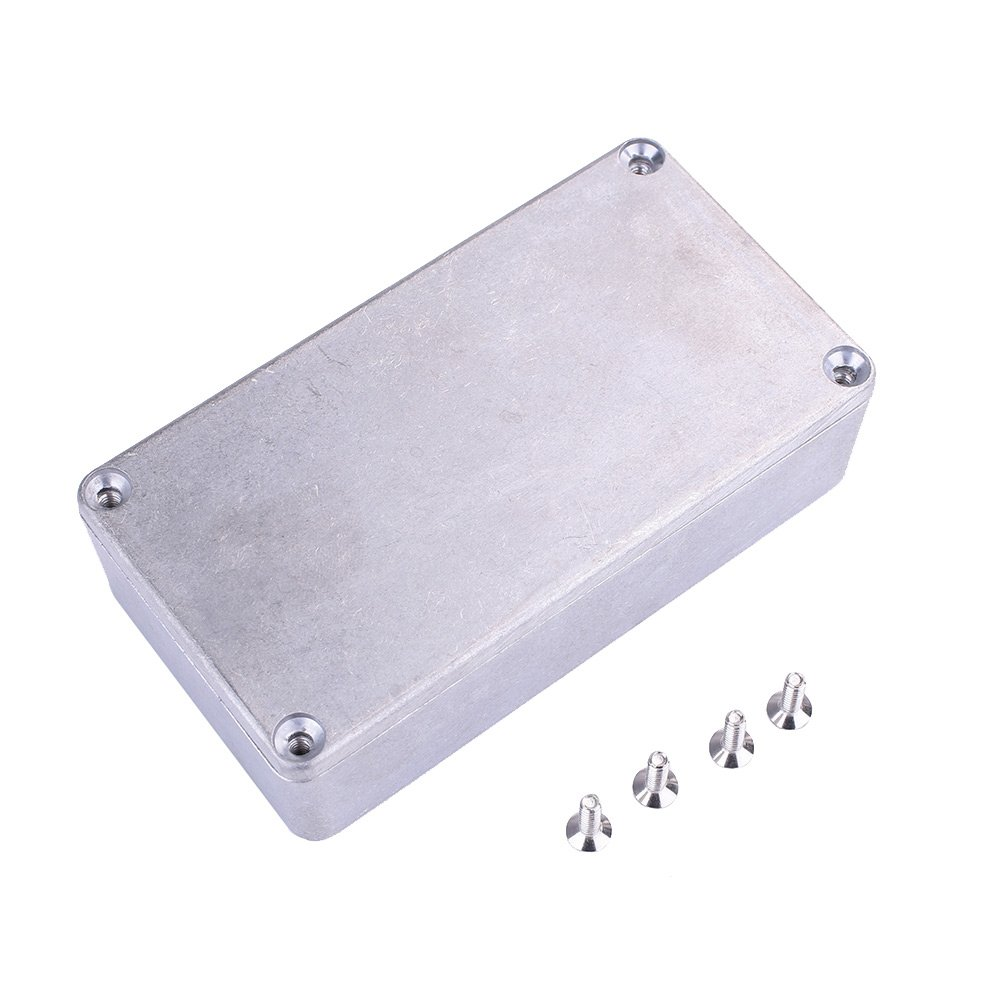 Forfar Aluminium Gitarreneffektpedal Stomp Box Gehege