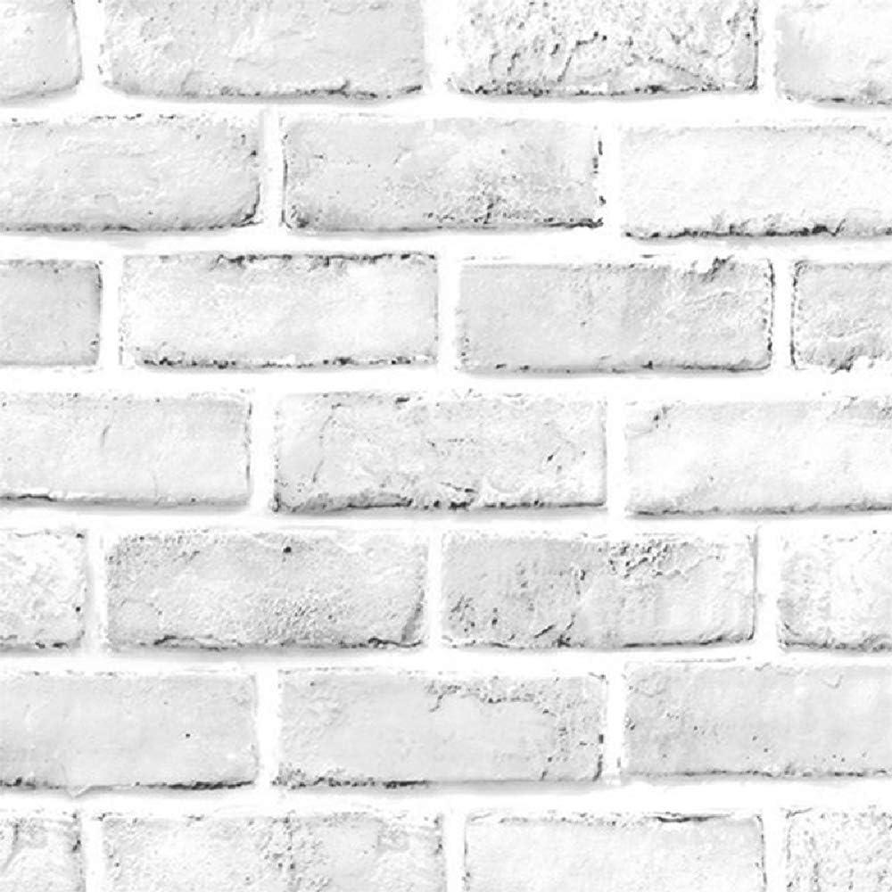 Taogift Self Adhesive Grey White 3d Brick Contact Paper Wallpaper Peel And Stick Kitchen Vinyl Backsplash Bathroom Wall Home Decal Sticker 24 X196 Amazon Ca Home Kitchen