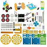 STEM Robotics Kit for Kids Learning Physics Science Project Engineering Building Kits Electric Motors Set DIY Classroom Toy for Student