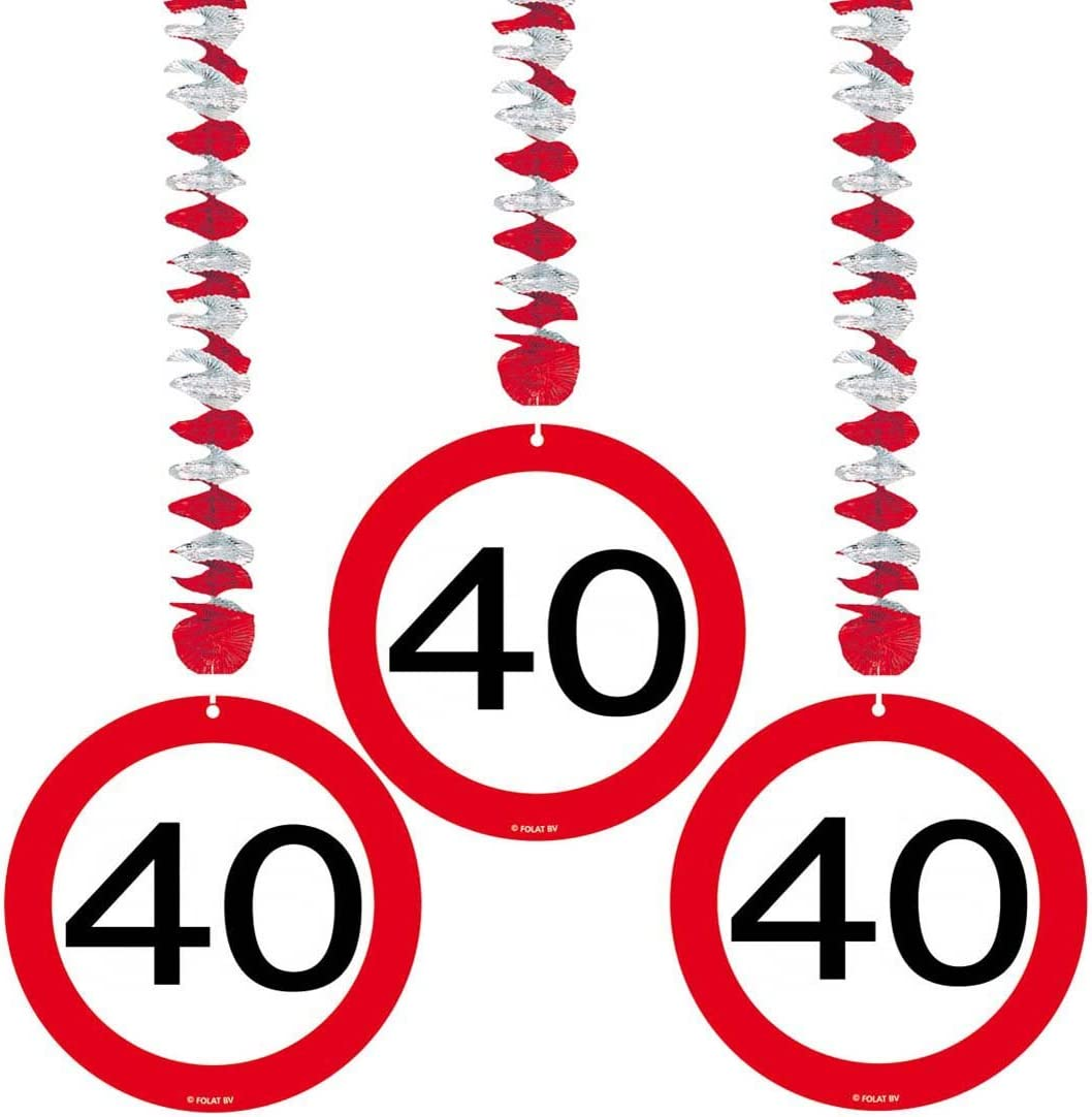 Amakando Decorative inflatable party accessories road sign 60th birthday balloon traffic sign 30 cm Party balloon jubilee articles Figures balloon anniversary deco utensils